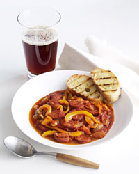 LESCO BEER RED LAGER STEW SOUP FOOD WINE