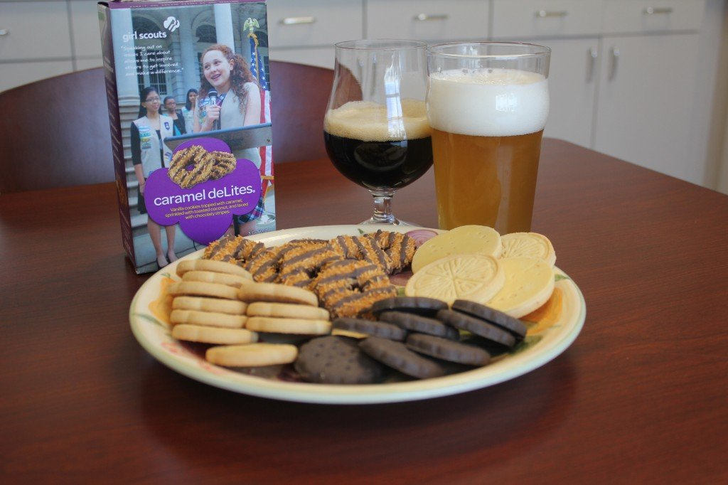 Girl Scout Cookies and Craft Beer Pairings