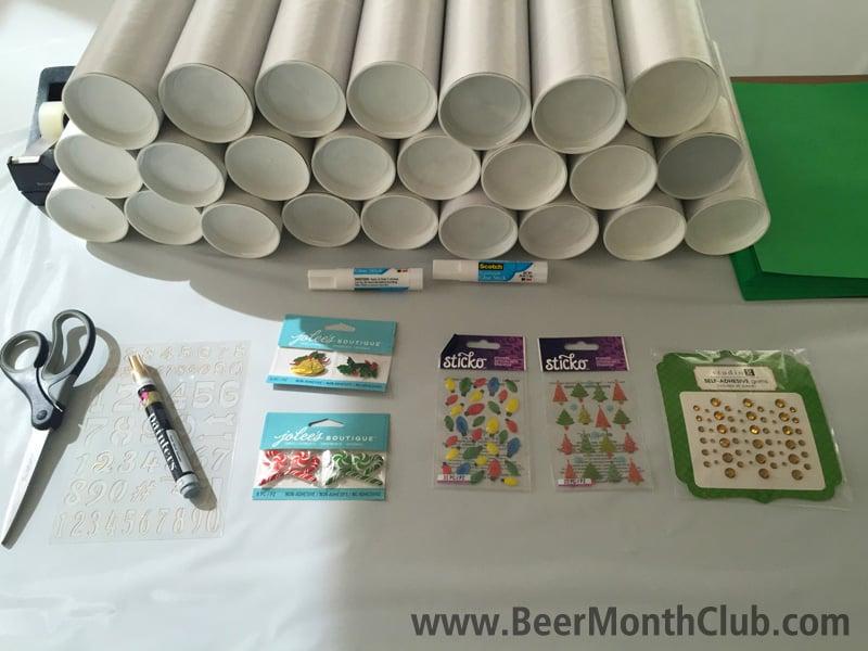 Beer Advent Calendar Diy : Diy craft beer advent calendar from the