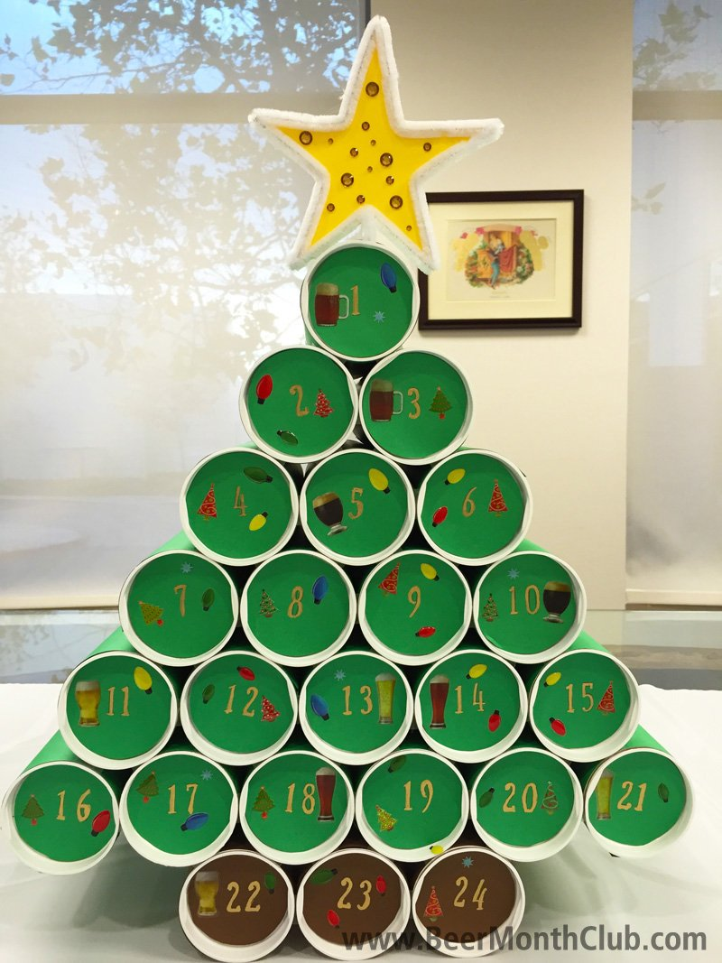 Advent-Christmas-Tree