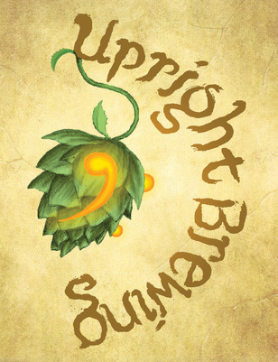 Upright Brewing Logo
