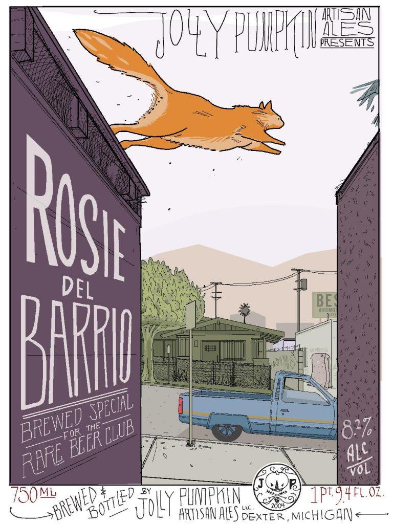Jolly Pumpkin's Rosie del Barrio Lives!