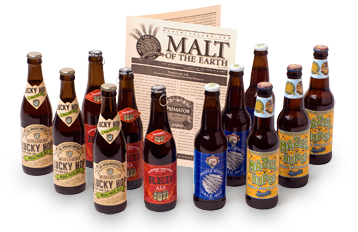 beer of the month club bottles